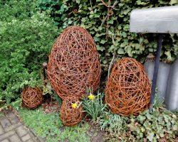Eier aus Weide